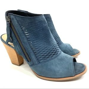 Paul Green Willow Bootie Suede Blue